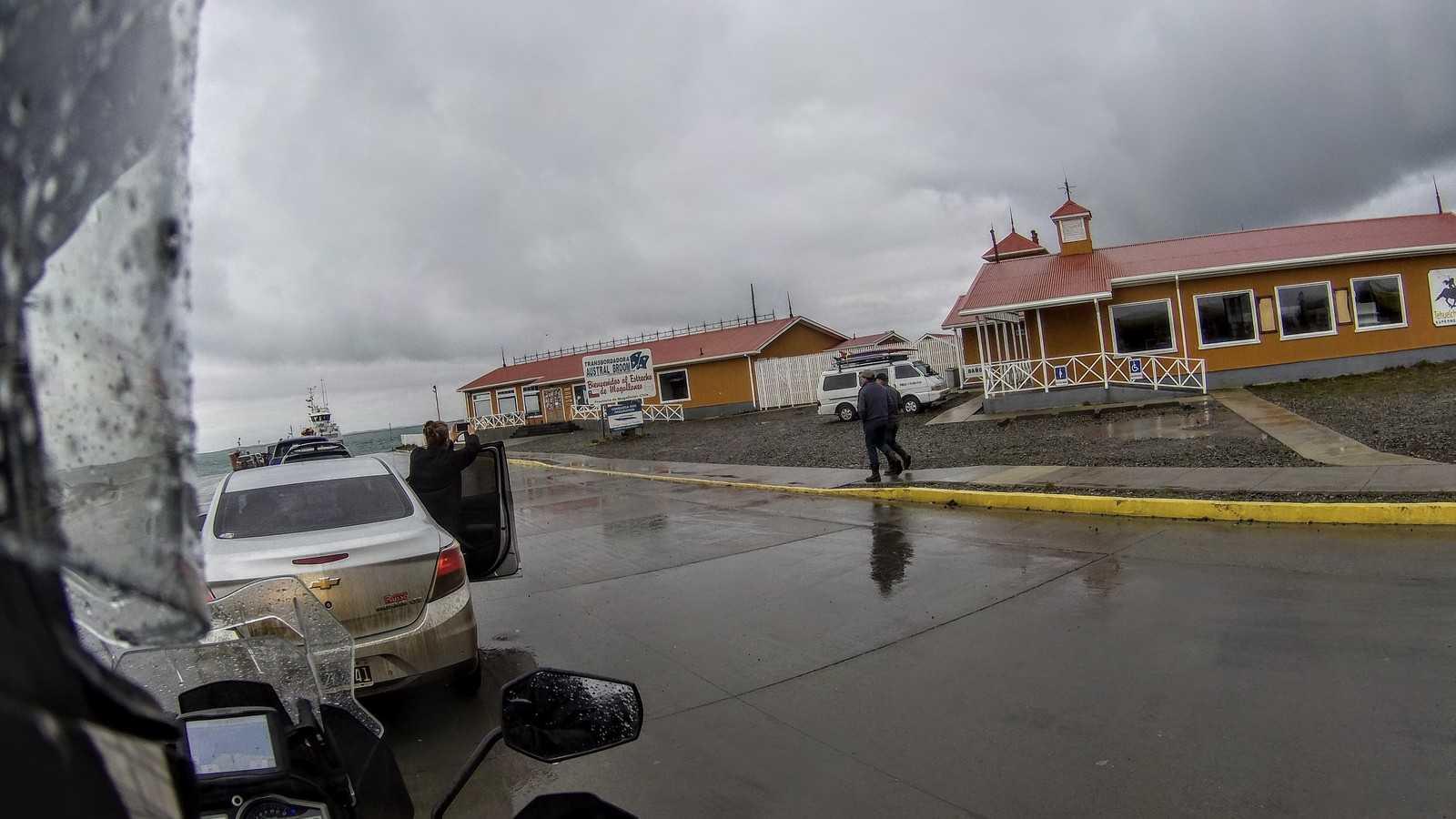 Puerto Progreso, San Gregorio, Cruce Punta Delgada