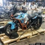 Shipping Motorbike back to USA with Dakar Motos